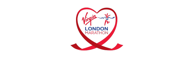 Virgin London Marathon heart logo